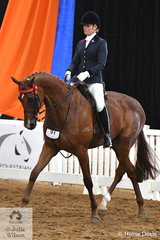 Crystal Taya Anderson representing Western Australia took out the 2018 Senior Rider over 21 Years Runner Up award.