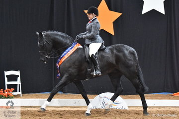 Abbey Lovell and her ever popular, 'Dicavalli Rory' representing Queensland took out the 2018 National Small Show Hunter Hack Runner Up award.
