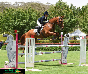 After winning the CCI One Star class at last years Wallaby Hill Three Day Event, Grace Kay and Celerity Park Faberge stepped up to the CCI Two Star this year and won the class in a highly competitve field.