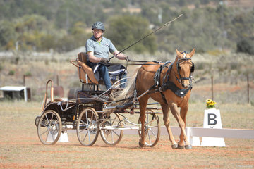 Graham Mercer driving 'Bain Park Pheonix'