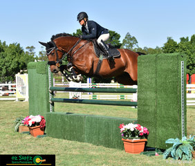 Fresh from helping to organise the Throughbred classes on Wednesday, Krissy Harris and Corvette GHP rode a lightening fast time of 66.66 in the picturesque arena holding the  Rising Stars Second Qualifier on Friday.