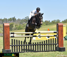 Rhys Stones and Chatina JRE were the winning combination in the Open 1.25m class at the Summer Show Jumping Classic held at the Sydney International Equestrian Centre.