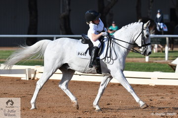 Bridget Murphy riding Koora Lyn Sunrise took second place in the Para Team Test Grade II. Bridget is working very hard to try and make the Australian Para Equestrian Team for the Tokyo Olympics.