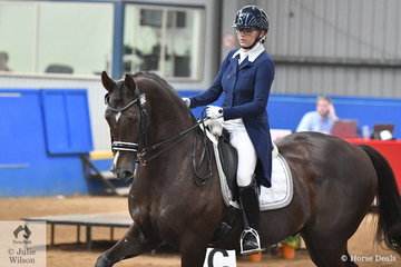Mary Nitschke was pleased with seventh place in the Werribee Isuzu & Longvue Prix St George, riding her newly purchased Utopian Cardinal. Mary and the former Heath Ryan mount are just at the start of a promising partnership.