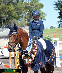 The Young Rider herself, Brooke Langbecker and her partner in crime, Quintago 1 took out the win at the 2018 Sydney Summer Show Jumping Classic World Cup Qualifier.