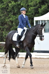 On a much cooler day than the past two, Rose Amezdroz rode Sterling Archer in the Participation Preliminary 1.2.