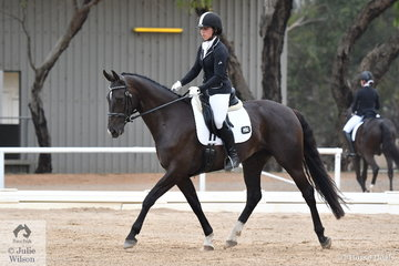 Bridgette Van Sprang rode Hollands Bend Duet to fourth place in the Participation Preliminary 1.2.
