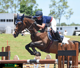 Following her World Cup win, Brooke Langbecker and Beijing LS LA Silla backed it up with a win in the Young Rider Series Final on Sunday at the Sydney Summer Show Jumping Classic.