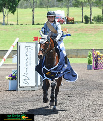 Decided after four rounds, starting back at the Aquis Champions Tour in April and finishing at the Summer Show Jumping Classic, Erin Buswell and Quero Quero were the most consistant performers throughout the sereis and they won the overall Stal Tops Young Rider Series for 2018.