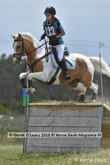 "Alexandra Phelan in the Open Grade 2 riding ""Tobie One Knobie"""