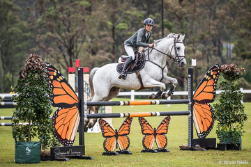 Eva Rasmussen and 'Devil Wears Prada' are third in the Amateur Round 1 class