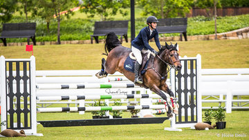 Kayla Hogg and 'Alcheringa Tradition' are fifth in a time of 71.160 sec