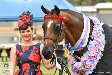 A glamorous looking, Courtney Bird led her 'Belarusian' to claim the Racing Victoria Led OTT Thoroughbred Championship.