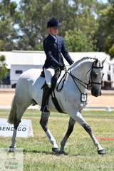 Riley Shannon-Winzer claimed the OTT Reserve Championship last night and today took out the 2019 VAS Large Show Hunter Hack Reserve Championship with the popular , 'Parishon'.