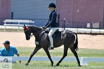 Tori Merygold rode her, 'Whitmere Royale' (12.2-13hh) to claim the 2019 VAS Large Pony Reserve Championship.