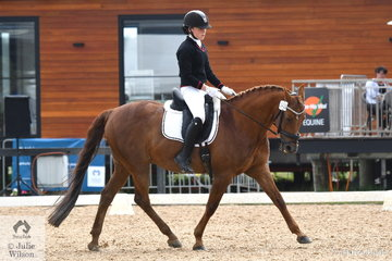 Hattie Lever riding Majestic Moments represented Balcombe Grammer in the Senior 1.1.