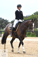 Mia Wright from Haileybury College rode Jalyn Royrumba to third place in the Senior 1.1.