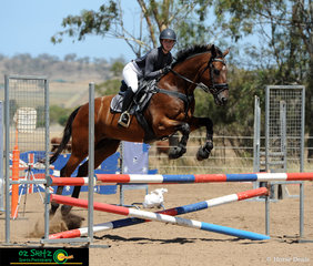 Enjoying their Australia Day long weekend was Brianna Phillips and Hollywood Hills at the Australia Day Championships held in Toowoomba.
