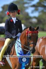 "Champion Open Small Saddle Pony ""Harrington Park Symphony"" ridden by Annabelle Richardson, exhibited by Emma Richardson"
