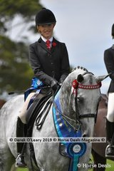"Champion Open Large Saddle Hack, ""Rolex II"" ridden by Kaitlin Labahn-Meyland exhibited by Michelle Labahn"
