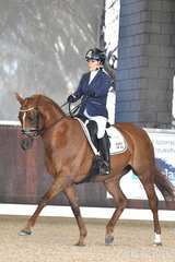 Amanda Pasons rode, 'LBA Zhia' to win the Equestrian Australia Para Equestrian CPEDN Grade IV Freestyle.
