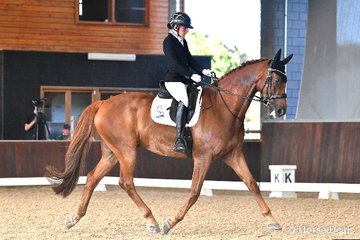 The former champion Young Horse, 'Saddle Up Romper Stomper'  was ridden by Phoebe Roche to take fourth place in the Equestrian Australia Para Equestrian CPEDN Grade IV Freestyle.