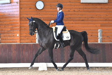 Zoe Vorenas rode, 'Little Brave' to third place in the Equestrian Australia Para Equestrian CPEDN Grade IV Freestyle.