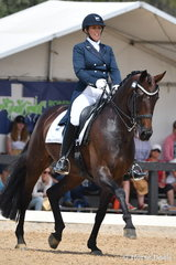 Victorian rider, Holly Cutler rode her, 'Diva Royale' to take second place in the IRT FEI Grand Prix CDI Australian World Cup Final Freestyle.