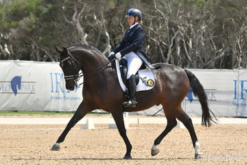 Rio Olympic representatives, Sue Hearn and 'Remington' from NSW took third place in the  IRT FEI Grand Prix CDI Australian World Cup Final Freestyle.