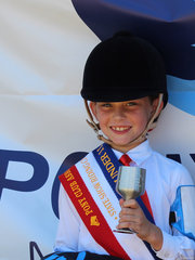 PCANSW State Show Riding Championships  9 and under 11 years Champion Anastasia Blanch