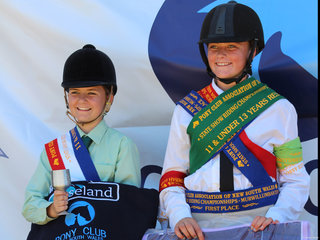 PCANSW State Show Riding Championships  11 and under 13 years Champions