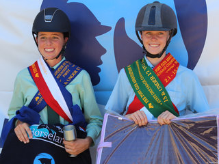 PCANSW  Dressage Championships 15 & under 17  Champion was Lilly Rose Powell from Zone 9 and Reserve was Anastasia Haling from Zone 25
