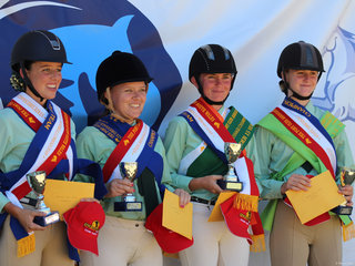 PCANSW State Dressage Championships Winning Zone top 4 riders was Zone 9 Lilly Rose Powell, Chlow Dwyer, Angela Muller and Jemma Whelan