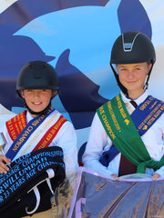 PCANSW  Dressage Championships 11 & under 13  Champion was Jorja Mc Closkey from Qld and reserve was Shae Stubbs from Qld