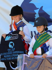 PCANSW  Dressage Championships under 11  Champion was  Ava Peel from Zone 9 and reserve was Marley Yates from Zone 25