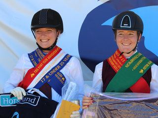 PCANSW  Dressage Championships 17 & under 26  Champion was Jana Stadelmann from Qld and reserve was Amelia Starkey from Qld