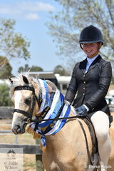 Bella Farmer had a successful day at the 116th Annual Yarra Glen Show with her, 'Crestwood Royal Ambition'. They were declared Champion Led and Ridden Welsh B and Champion Led and Ridden Palomino.