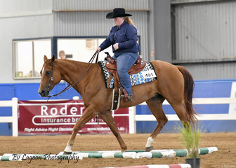 RADICAL SON RIDDEN BY ALISON HADENFELDT WON THE NOVICE YOUTH TRAIL 7-14 YEARS