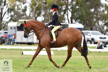Annabelle Richardson rode well on the final day of the Barastoc 50th Anniversary Celebration Show to be declared Reserve Champion Rider 9, 10 and 11 years and declared 2019 Reserve Champion Junior Rider.
