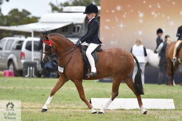 Jessica Sharp put on a beautiful display of riding to be declared Champion Rider 9, 10 and 11 Years and went on to be declared 2019 Barastoc 50th Anniversary Celebration Show Champion Junior Rider.