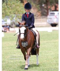 Champion Rider 6 & under 9 years - Sarah Amundsen.