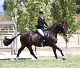 Grace Imrie placed Top 10 in the Rider 21 & under 30 years event.