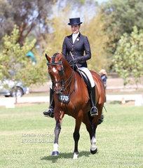 Sarah McMaster was Reserve Champion Rider 21 & under 30 years.