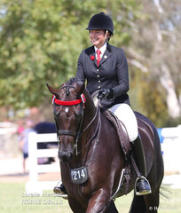 Syenna Vasilopoulos placed Top 10 in the Rider 21 & under 30 years event.