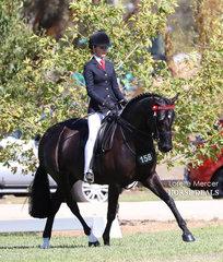 Champion Rider 15 & under 17 years - Ebonie Lee.