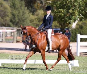 Champion Rider 12 & under 15 years Gracie Goodyer.