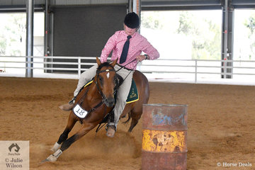 Fifteen year old Angus Richardson is not the only rider in the Richardson family. Preferring the action of Australian Stock Horse competition, Angus rode his, 'Boonara Jackson' (Bluffdowns Jake/Star Mannequin' to claim the Eion Millward Youth Challenge Memorial Trophy at the 2019 Victorian ASH State Championships.