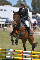 """IBEONN SHILO"" ridden by Vanessa Bourk in the EV65 Grass Roots"