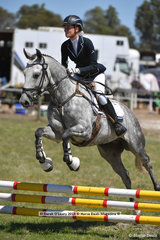 """SID"" ridden by Zoe Rogers in the EV65 Grassroots Showjumping Phase"