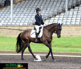 Sydney provided some trying weather conditions on the first day of the Sydney Eventing Summer Classic, Mia Cartwright and Coolidowns Lawman compete in the EvA60 Junior class.